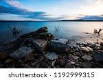 Rocks By An Oklahoma Lake