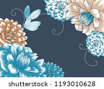 cute wedding invitation with... | Shutterstock .eps vector #1193010628