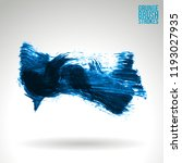 blue brush stroke and texture.... | Shutterstock .eps vector #1193027935