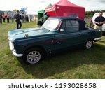 vintage triumph vitesse car... | Shutterstock . vector #1193028658