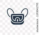 messenger bag vector icon... | Shutterstock .eps vector #1193041795