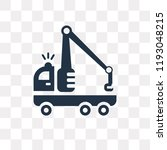 tow truck vector icon isolated... | Shutterstock .eps vector #1193048215