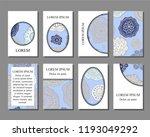 stock vector art brochure... | Shutterstock .eps vector #1193049292