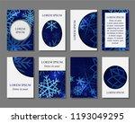 stock vector art brochure... | Shutterstock .eps vector #1193049295