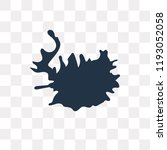 iceland map vector icon... | Shutterstock .eps vector #1193052058
