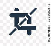 crop vector icon isolated on... | Shutterstock .eps vector #1193053648