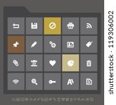 modern office and web icons for ...