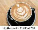 latte art coffee. | Shutterstock . vector #1193062768