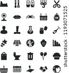 solid black flat icon set... | Shutterstock .eps vector #1193071525