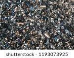 group of steel scrap on steel... | Shutterstock . vector #1193073925