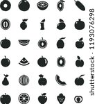 solid black flat icon set...   Shutterstock .eps vector #1193076298