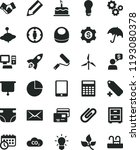 solid black flat icon set... | Shutterstock .eps vector #1193080378