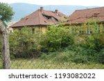 an old deserted socialist... | Shutterstock . vector #1193082022
