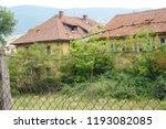 an old deserted socialist... | Shutterstock . vector #1193082085