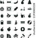 solid black flat icon set... | Shutterstock .eps vector #1193083228