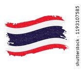 flag of thailand  grunge...   Shutterstock .eps vector #1193107585