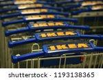 riga  latvia   september 21 ...   Shutterstock . vector #1193138365