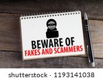 Small photo of Beware Of Fakes And Scammers