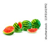 fresh  nutritious and tasty... | Shutterstock .eps vector #1193141992