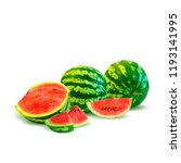 fresh  nutritious and tasty... | Shutterstock .eps vector #1193141995