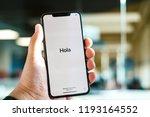 riga  september 2018   recently ... | Shutterstock . vector #1193164552