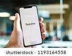 riga  september 2018   recently ... | Shutterstock . vector #1193164558