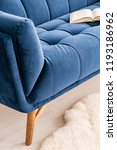 close up of a part a couch...   Shutterstock . vector #1193186962