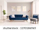 a modern living room interior... | Shutterstock . vector #1193186965