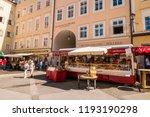 salzburg  austria   september...   Shutterstock . vector #1193190298