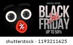 black friday sale concept.... | Shutterstock .eps vector #1193211625