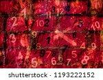 world of figures  numerology | Shutterstock . vector #1193222152