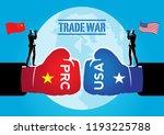 an illustration of tariffs... | Shutterstock .eps vector #1193225788