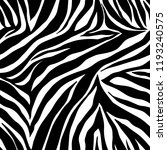 Vector Animal Print. Zebra...