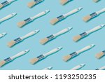 pattern composition of white... | Shutterstock . vector #1193250235