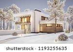 3d rendering of modern cozy... | Shutterstock . vector #1193255635