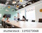 mature businessman giving... | Shutterstock . vector #1193273068