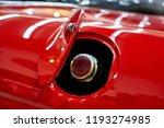 the metal fuel tank cap of the... | Shutterstock . vector #1193274985