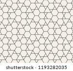 vector seamless geometric... | Shutterstock .eps vector #1193282035