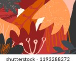 autumn design with abstract... | Shutterstock .eps vector #1193288272