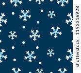 Snowflakes Pattern White...