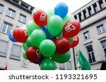 brussels  belgium. 2nd oct.... | Shutterstock . vector #1193321695