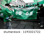 brussels  belgium. 2nd oct.... | Shutterstock . vector #1193321722