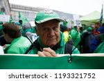 brussels  belgium. 2nd oct.... | Shutterstock . vector #1193321752