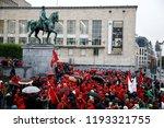brussels  belgium. 2nd oct.... | Shutterstock . vector #1193321755