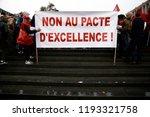 brussels  belgium. 2nd oct.... | Shutterstock . vector #1193321758