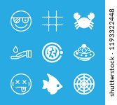 sea icons set with rule of... | Shutterstock .eps vector #1193322448