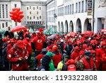 brussels  belgium. 2nd oct.... | Shutterstock . vector #1193322808