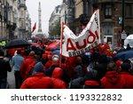 brussels  belgium. 2nd oct.... | Shutterstock . vector #1193322832