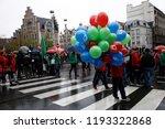 brussels  belgium. 2nd oct.... | Shutterstock . vector #1193322868