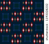 christmas plaid repeat pattern. ...   Shutterstock .eps vector #1193328232